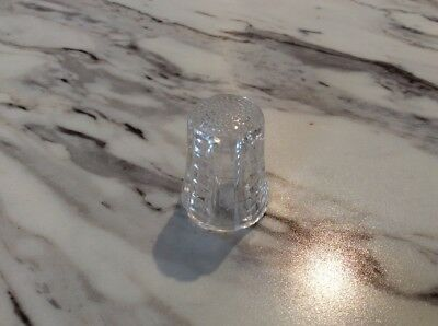 Glass Crystal? Thimble Vintage Fancy