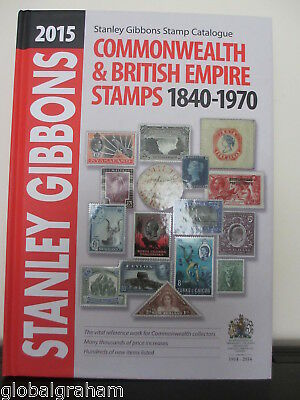Stanley Gibbons Great Britain Commonwealth 1840-1970 Catalogue 2015 Edition Vgc