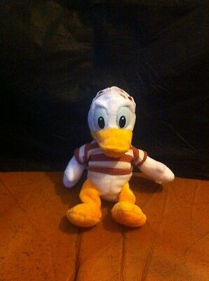 "Disney Donald Duck 7"" Plush Soft Toy"