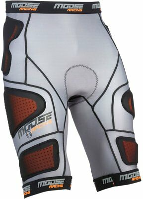 Moose Racing Mens XC1 Base Armored Compression Shorts