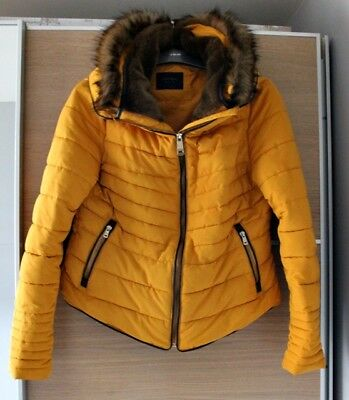 Ladies Navy Quilted Jacket River Island