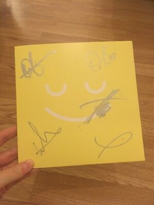 SIGNED bring Me The Horizon Happy Song Single Vinyl BMTH