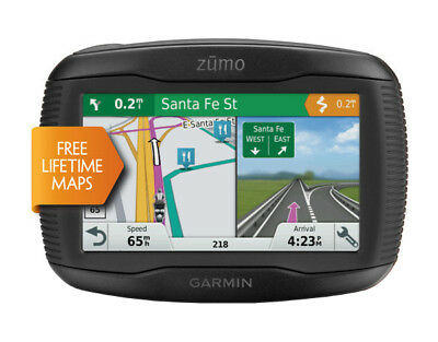 Garmin zumo 395LM Motorcycle Navigation System with Touchscreen and Bluetooth
