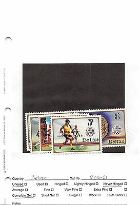 Lot of 38 Belize MNH Mint Never Hinged Stamps #98607 X R