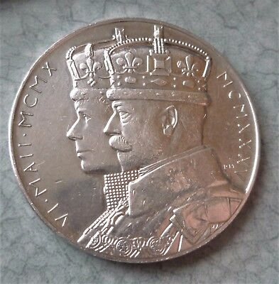 1935 George V, Official Silver Jubillee Medal (Sterling Silver) Very Nice Bright