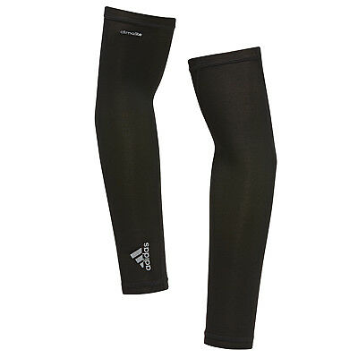Adidas Arm Sleeve Climalite Running (1 Pair) S99788 Black Men's Size S, M, L