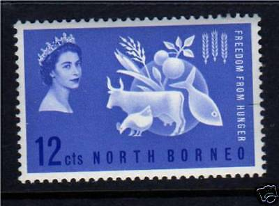 North Borneo 1963 Freedom from Hunger SG 407 MNH