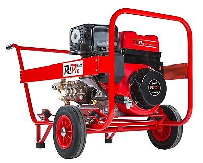 Petrol 13HP 21L/Min 200Bar 3 Yr Warranty Professional Pressure Washer Mitsubishi