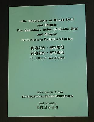 The Regulations of Kendo Shiai and Shinpan