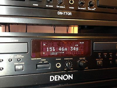 Denon CDR-W1500 Twin Professional CD Recorder/Player