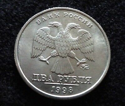 Russia 1998 2 Roubles Coin Double Eagle World Coins Russian Coins