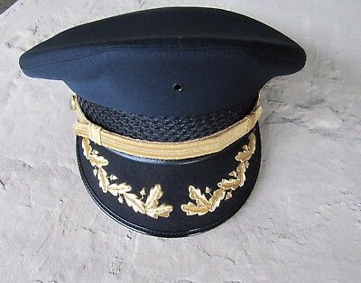 Bayly Inc, Uniform Round Hat  - Navy Blue - Police Fire Cadet Driver NEW