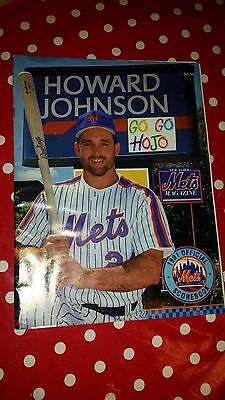 New York Mets 1991 Official Scorebook - Howard Johnson - Used from August 1991