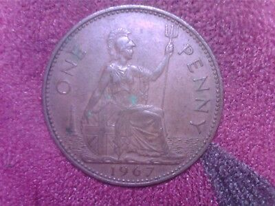 Great   Britain  One  Penny   1967