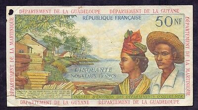 50 NF From French Antilles French Colony