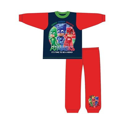 PJ Masks Pyjamas. Ages 18-24 Months and 2-3,3-4,4-5 Years
