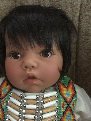 Native American Baby Lee Middleton Doll New