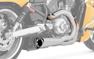 Vance & Hines Competition Series 2 Into 1 Exhaust For Harley-Davidson 75-116-4