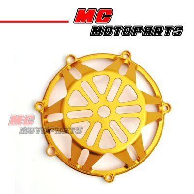 Gold For Ducati Open Billet Clutch Cover 748 999 1098 1198 S R 916 998 CC21