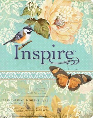 NLT Inspire Bible The Bible for Creative Journaling by Tyndale 9781496413734