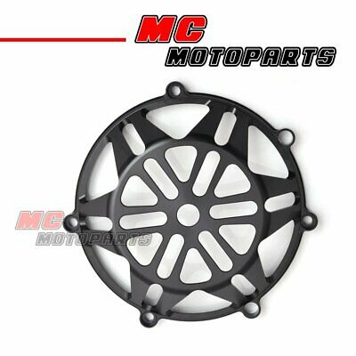 Black For Ducati CNC Billet Clutch Cover Monster S4RS S2R 1100 750ie 900ie CC21