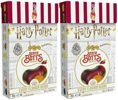 2x Jelly Belly Harry Potter Bertie Botts Flavour American Sweets Beans 34g - New