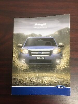 Ford Ranger 4Wd/2Wd Owners Manual Log Book Handbook Pk 04/09 - 09/11