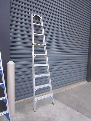 9 Step Aluminium Half Frame Step Ladder