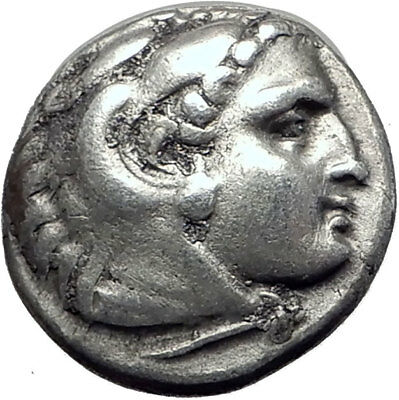 PHILIP III Alexander III the Great Half Brother Ancient Silver Greek Coin i64504