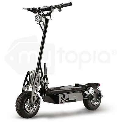 Stealth 1-6 1000W Electric Scooter 48V - Turbo w/ LED for Adult/Child