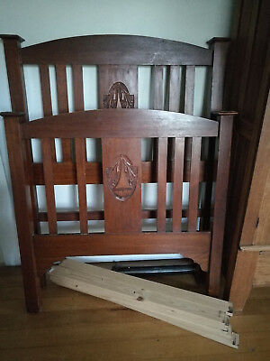 antique bed heads and rails
