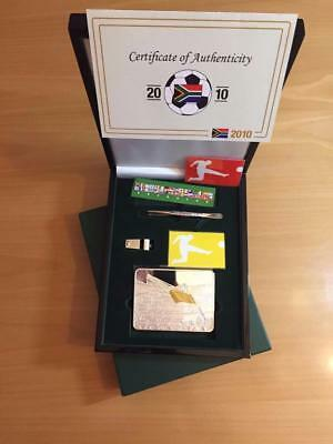 Liberia 2010 50$ South Africa FIFA 2010 World Cup 500g Silver Proof Coin