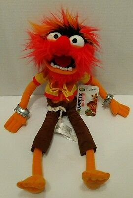 "Muppets Most Wanted Animal 18"" Disney Store Plush NWT"