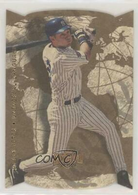 1998 Metal Universe Universal Language #9UL Derek Jeter New York Yankees Card