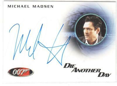"JAMES BOND 007 A173 MICHAEL MADSEN in ""DIE ANOTHER DAY"" AUTOGRAPH"
