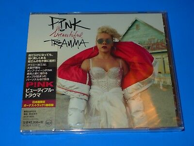 2017 JAPAN PINK BEAUTIFUL TRAUMA DIGI SLEEVE CD w/BONUS TRACK P!NK