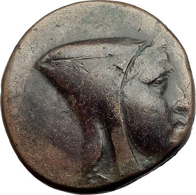 AMISOS in PONTUS 120BC Mithradates VI Quiver Authentic Ancient Greek Coin i64508