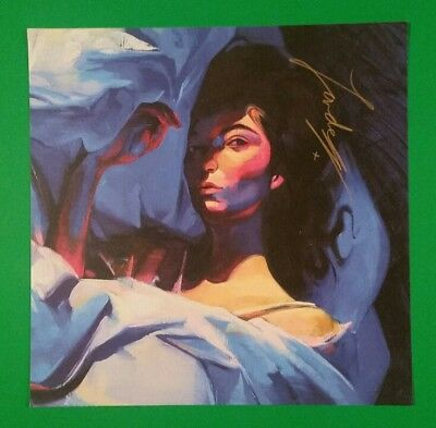 Brand New Signed Autographed Lorde Melodrama Album Cd Litho Lithograph