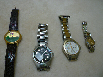 Guess Mens Watch, Watches x 4, Henley Sport, Golf Ladies, Ladies Swiss Hills