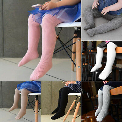 Baby Girl Toddler Cotton Long Socks Warm Tights Stocking Pantyhose Pants Age 0-8