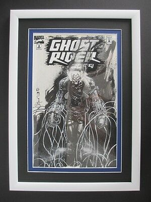 Ghost Rider 2099 #8 MARVEL 1994 - (Original Art) Cover by Chris Bachalo!!!