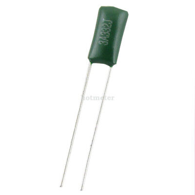 H● 50±2%* 3A332J 3300pF 5% Tolerance Polyester Film Capacitors