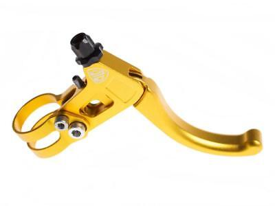 Brake lever cnc fixed right gold BLB
