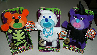 Sing A Ma Jigs electronic plush singing toy doll Halloween Witch Xmas Gift new