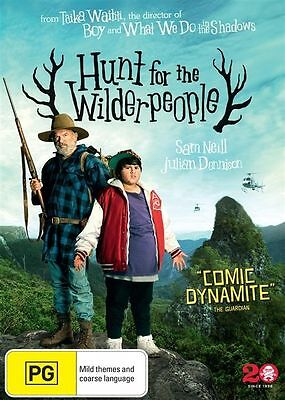 Hunt For The Wilderpeople (DVD, 2016)