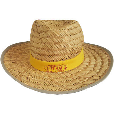 Australian Outback Spectacular Presented By R.M. Williams Cowboy Hat Size M VTG