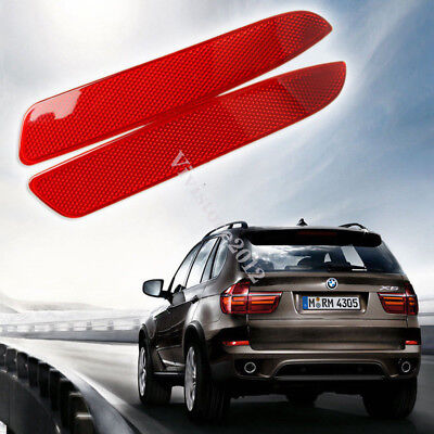 Rear Bumper Cover Lens Lamp Reflector Housing Tail Warning Light For BMW  X5 E70