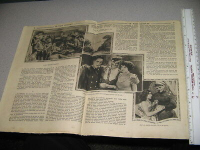 Lon Chaney 1924 ALL BROTHERS VALIANT French Film Complet photoplay pulp magazine