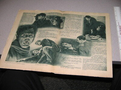 Werewolf of London Henry Hull photoplay 1935 Universal monster,pulp magazine