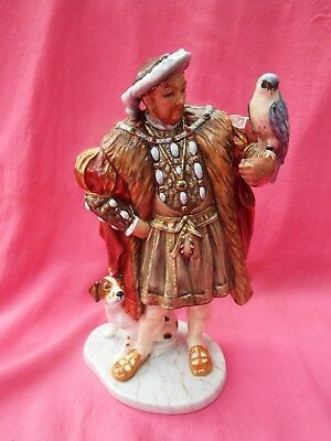ROYAL DOULTON  Limited Edition  Figurine with CoA  HENRY VIII HN3350